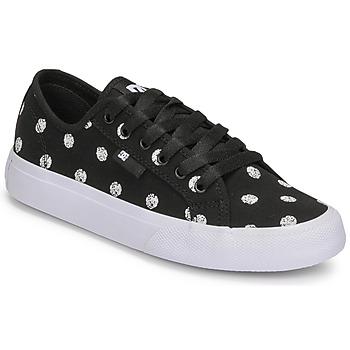 Chaussures Femme Baskets basses DC Shoes MANUAL TXSE Noir / Blanc