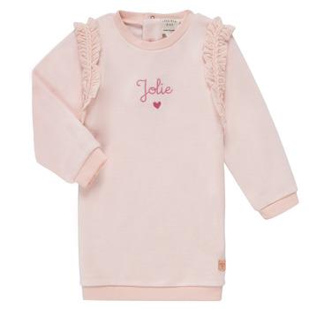 Vêtements Fille Robes courtes Carrément Beau ABRICOT Rose