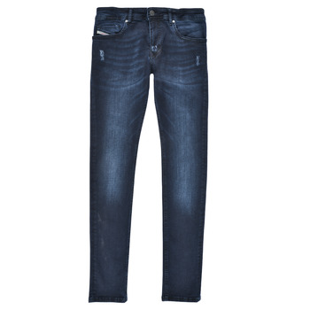 Vêtements Garçon Jeans skinny Diesel SLEENKER Bleu foncé