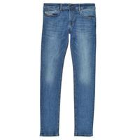 Vêtements Garçon Jeans skinny Diesel SLEENKER Bleu medium