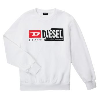 Vêtements Enfant Sweats Diesel SGIRKCUTY OVER Blanc