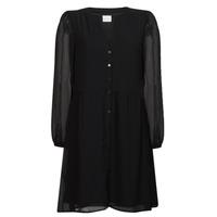 Vêtements Femme Robes courtes Vila VIAMIONE Noir