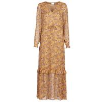 Vêtements Femme Robes longues Vila VIFALIA Cognac