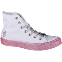 Chaussures Femme Baskets montantes Converse X Miley Cyrus Chuck Taylor HI All Star Blanc