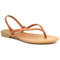 Chaussures Femme Sandales et Nu-pieds Grendha Cacau Versatil Doré