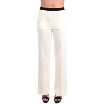 Vêtements Femme Pantalons fluides / Sarouels Jucca J3314105 Culottes Femme Crème Crème
