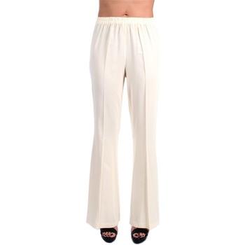 Vêtements Femme Pantalons fluides / Sarouels Jucca J3314002 Patte Femme Crème Crème