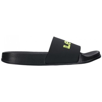 Chaussures Femme Claquettes Levi's POOL TRANSLUCENT 0003 Mujer Negro noir