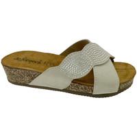 Chaussures Femme Mules De Fonseca DEFONCERVIAbia bianco