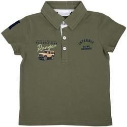 Vêtements Enfant Polos manches courtes Interdit De Me Gronder AVENTURA Vert kaki