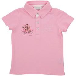 Vêtements Fille Polos manches courtes Téléchargez lapplication pour SWEETY Rose
