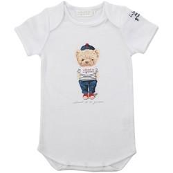 Vêtements Enfant Pyjamas / Chemises de nuit Interdit De Me Gronder MINI Blanc