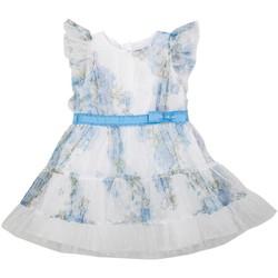 Vêtements Fille Robes courtes Interdit De Me Gronder LUNA Bleu ciel