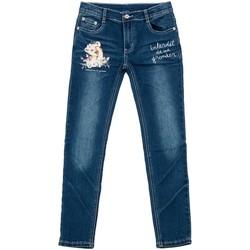 Vêtements Fille Jeans slim Téléchargez lapplication pour LIONITA Bleu marine