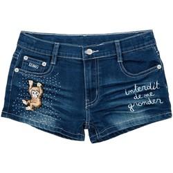 Vêtements Fille Shorts / Bermudas Interdit De Me Gronder MONKITA Bleu marine