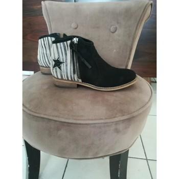 Chaussures Fille Bottines Minelli Bottines Minelli Noir
