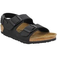 Chaussures Enfant Sandales et Nu-pieds Birkenstock Milano Birko Flor Enfant Noir Noir