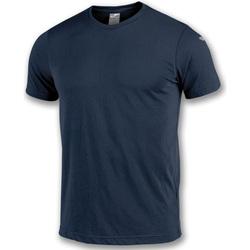 Vêtements Garçon T-shirts manches courtes Joma T-shirt  NIMES bleu marine