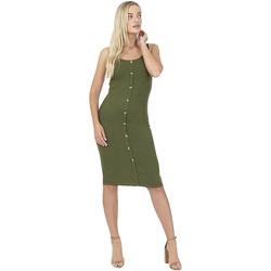 Vêtements Femme Robes courtes Brave Soul  Vert kaki