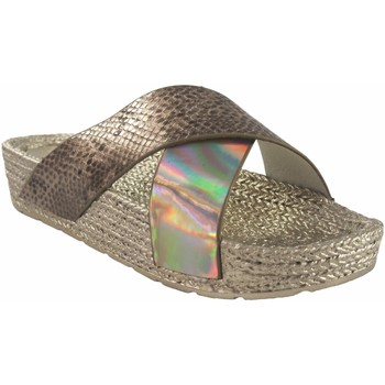 Chaussures Femme Espadrilles Kelara Dame de plage  K12033 or Doré