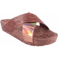 Chaussures Femme Espadrilles Kelara Beach Lady  K12033 Saumon Rose