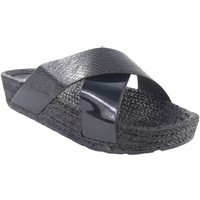 Chaussures Femme Espadrilles Kelara Dame de plage  K12033 noir Noir