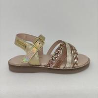 Chaussures Fille Sandales et Nu-pieds Les Tropéziennes par M Belarbi IKOPA Marron