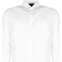 Vêtements Homme Chemises manches longues Les Hommes  Blanc