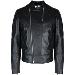 Vêtements Homme Vestes en cuir / synthétiques Les Hommes  Noir