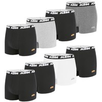 Sous-vêtements Homme Boxers Ktm Lot de 8 Boxers coton homme Noir