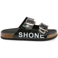 Chaussures Garçon Mules Shone - 026798 Noir