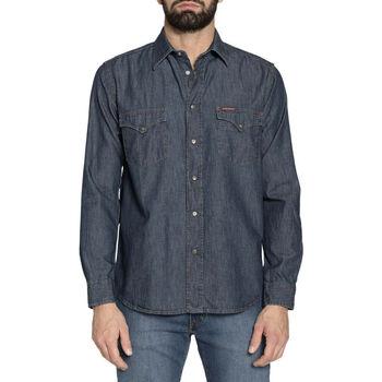 Vêtements Homme Chemises manches longues Carrera - 205-1005A Bleu