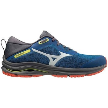 Chaussures Running / trail Mizuno WAVE RIDER TT 2 DIRECTOIRE BLUE / DAWN BLUE / RED