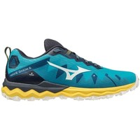 Chaussures Running / trail Mizuno WAVE DAICHI 6 SCUBA BLUE / SNOW WHITE / SULPHUR
