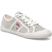 Chaussures Tennis TBS TIGE BASSE LACET OFF-WHITE RAYE CAVERNE