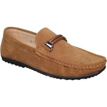 Chaussures Homme Mocassins Uomo Mocassin à enfiler Beige