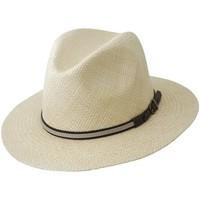 Accessoires textile Chapeaux Chapeau-Tendance Véritable panama INDIANA JONES T58 Blanc ivoire