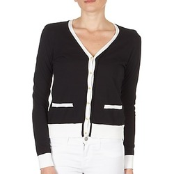 Vêtements Femme Gilets / Cardigans Petit Bateau TSARY Noir/Blanc