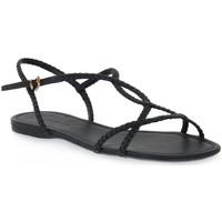 Chaussures Femme Sandales et Nu-pieds Miss Unique UNIQUE   PRETO CALF Nero