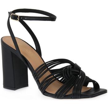 Chaussures Femme Sandales et Nu-pieds Miss Unique UNIQUE   PRETO SMOOTHIE Nero