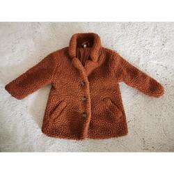 Vêtements Enfant Manteaux Sans marque Manteau bébé camel Marron