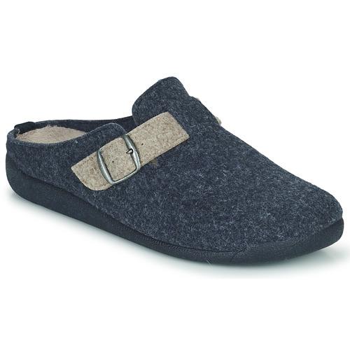 Chaussures Garçon Chaussons Citrouille et Compagnie PIWANA Bleu