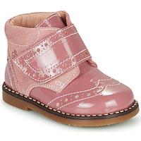Chaussures Fille Boots Citrouille et Compagnie PROYAL Rose vernis