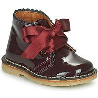 Chaussures Fille Boots Citrouille et Compagnie PASTEQU Bordeaux