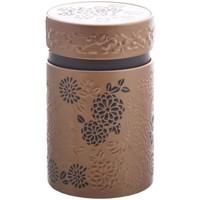 Maison & Déco Paniers, boites et corbeilles Zen Et Ethnique Petite boite Yumiko pour le thé Contenance 150 gr Doré