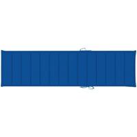 Maison & Déco Galettes de chaise VidaXL Coussin de chaise longue 200 x 50 x 4 cm Bleu
