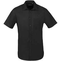 Vêtements Homme Chemises manches courtes Sols BRISTOL FIT Negro Negro
