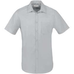 Vêtements Homme Chemises manches courtes Sols BRISTOL FIT Gris Perla Gris