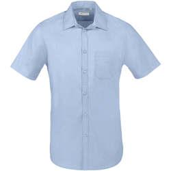 Vêtements Homme Chemises manches courtes Sols BRISTOL FIT Azul Cielo Azul