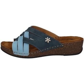 Chaussures Femme Mules Florance 22134-2 BLEU